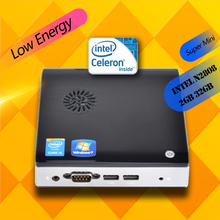 Ргнс htpc f2 intel atom 1.8 ГГц cpu 2 ГБ 32 ГБ ssd hd graphics 300 м wifi mini pc windows компьютер