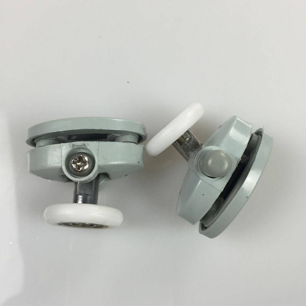 8 Pcs Shower Glass Door Top Rollers Runners Pulleys Wheels 25mm in Bath Hardware Sets from Home Improvement