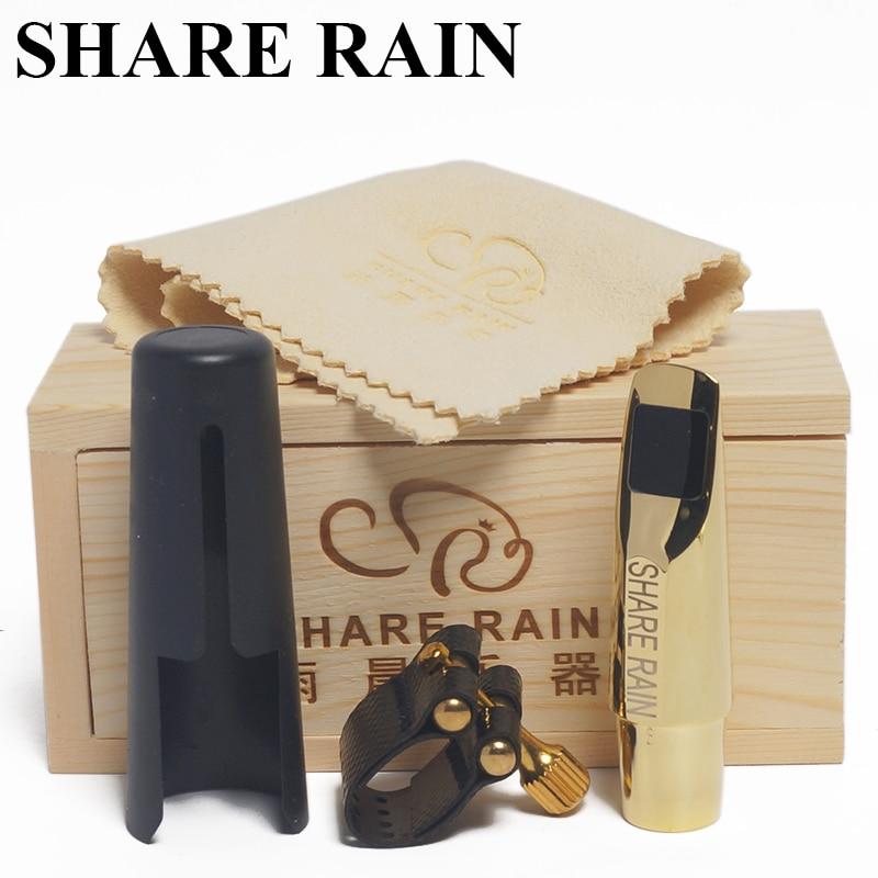 SHARE RAIN Handmade repair sporano saxophone metal mouthpiece the copy rovner sporano saxophone mouthpiece