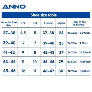 Image 2 - ANNO Medical clogs with Strap Nurse Safety Slippers Anti Static Surgical Foot wear for Women Men Grip Non slip Shoes