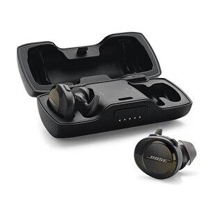 Image 4 - Bose Hoofdtelefoon SoundSport Gratis Echte Draadloze Bluetooth Oortelefoon TWS Oordopjes Transpiratie Sport Headset Muziek Oortelefoon met Microfoon
