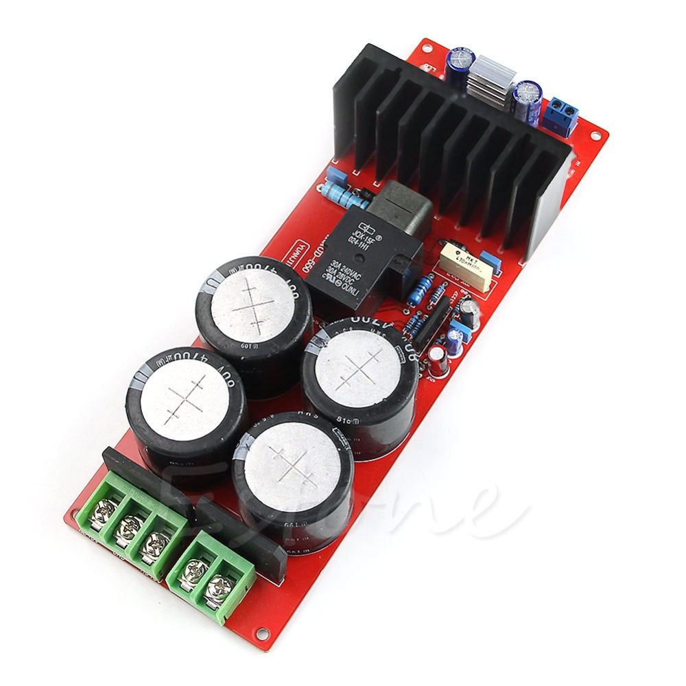 JINSHENGDA 30A IRS2092 IRFB23N15D class D Amplifier Board / Mono / 350W/8Omega/700W/4Omega UPC1237