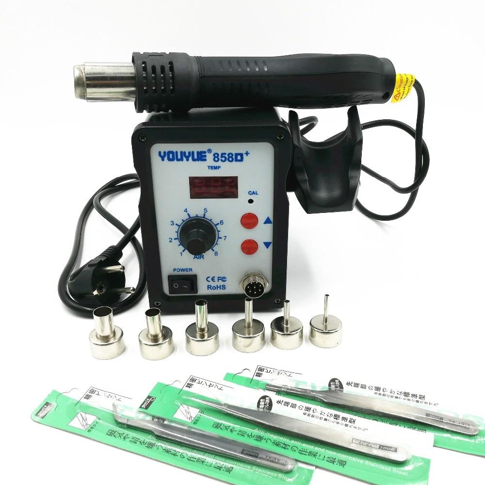 Heteluchtpistool 700W YOUYUE 858D + ESD-soldeerstation Digitaal - Lasapparatuur - Foto 4