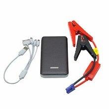 Capacidad 12 V 20000 mAh Coche de Arranque Salto portátil Booster móvil Del Coche Cargador de Batería USB Power Bank para Gasolina Y Diesel fuente de alimentación