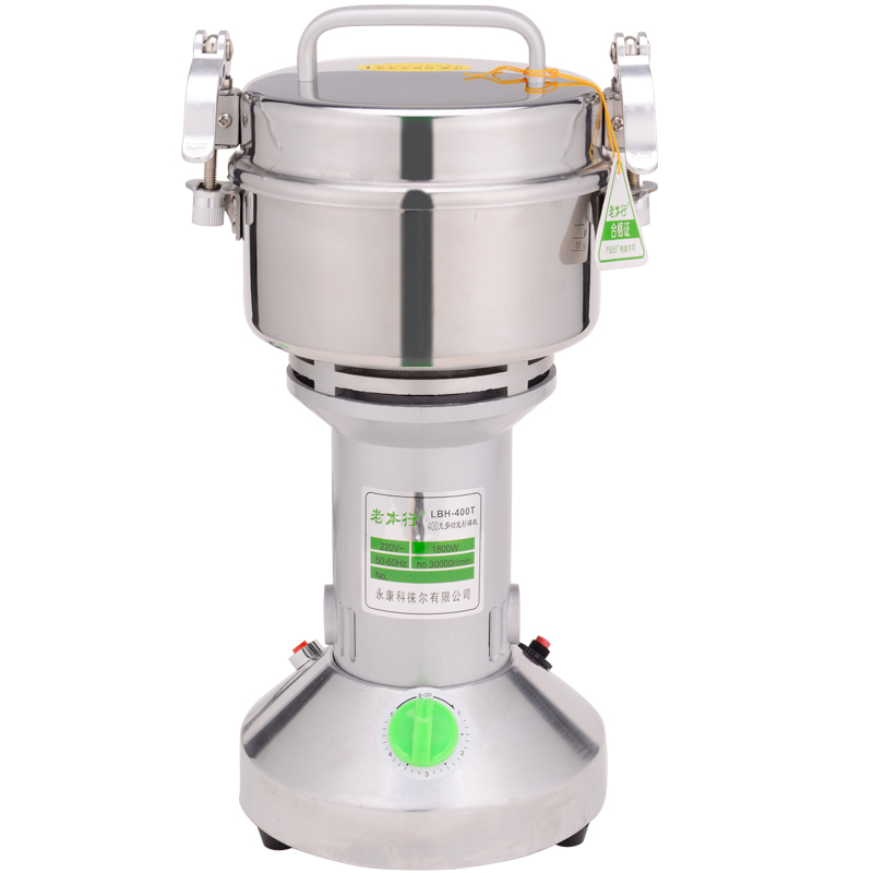 Home Small Superfine Grinder Stainless Steel Electric Blender Whole Grains Grinder Multifunction Grinding Machine household stainless steel medicinal powder broken machine small superfine grinder whole grains bean milling blender