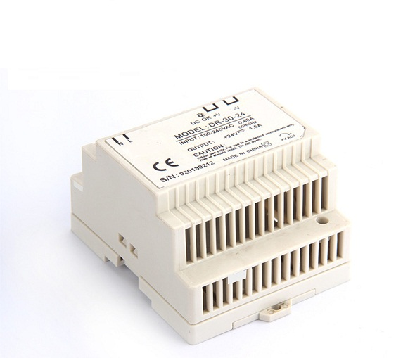 Din rail Single Output Switching power supply DR-30 30W 5V 12V 24V ac dc converter ac dc dr 60 5v 60w 5vdc switching power supply din rail for led light free shipping
