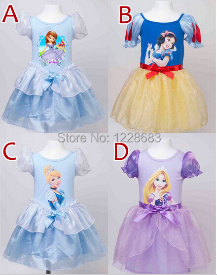 New 2015 Kids Summer Clothes Children's Costumes Girls Princess Dress Fantasia Roupas Infantil Meninas Vestido Infantil Princesa