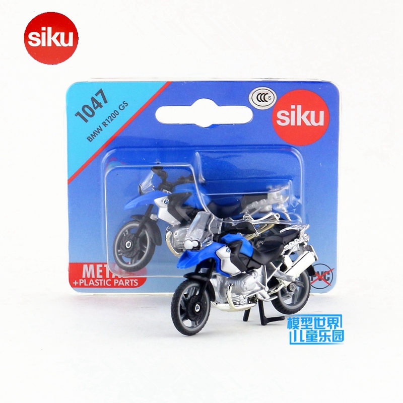SIKU German Educational/Diecast Metal Model toy Motorcycle/Simulation:R1200 GS Super/for children's gift or collection/Small