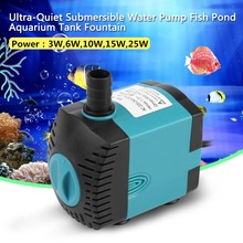 Multipurpose Fish Tank Water Pumps Aquarium Submersible Pump for Pond Pool Fountains Garden Hydroponic Systems