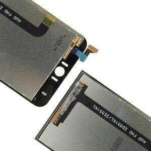 Image 4 - IPartsBuy yeni ASUS Zenfone Selfie için ZD551KL Z00UD LCD ekran ve sayısallaştırıcı tam meclisi ile çerçeve