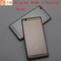 New For Xiaomi Redmi 3 Battery Back Cover Case 5Inch Redmi3 Phone Housing Back Battery Door