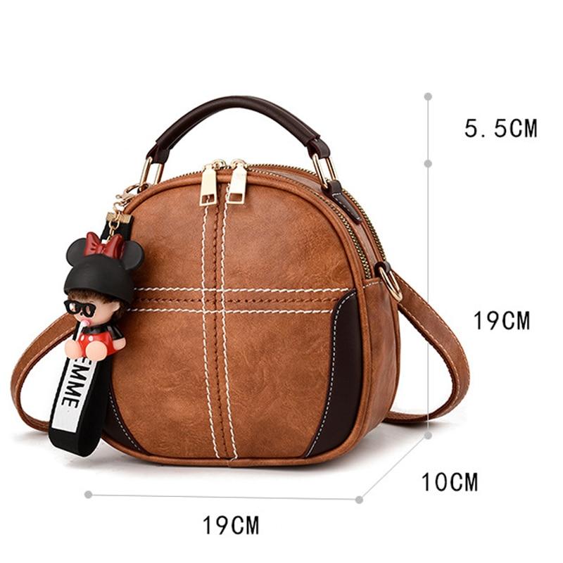 2019 Fashion Women Sequins Soft PU Leather Backpack Girl Teenage Small Travel Mini Shoulder Schoolbags Girl Purse Mochila Femina