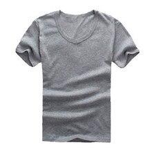 Mens v neck short sleeve