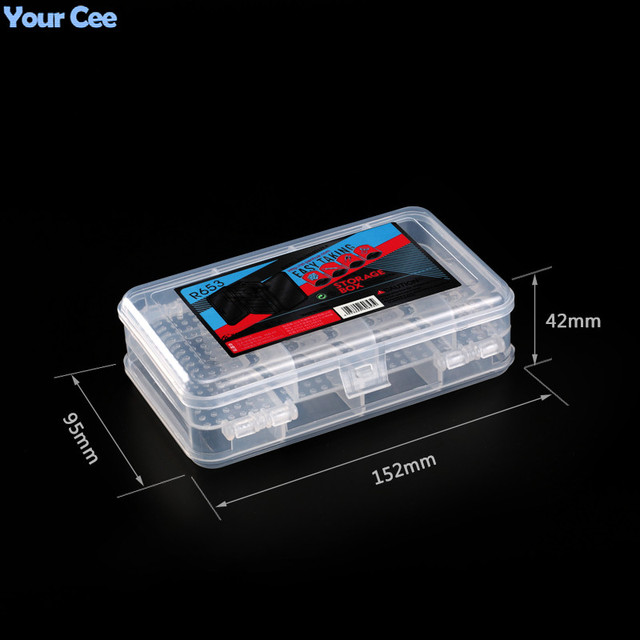 Active Components Storage Box Electronic DIY KIT 152*95*42mm