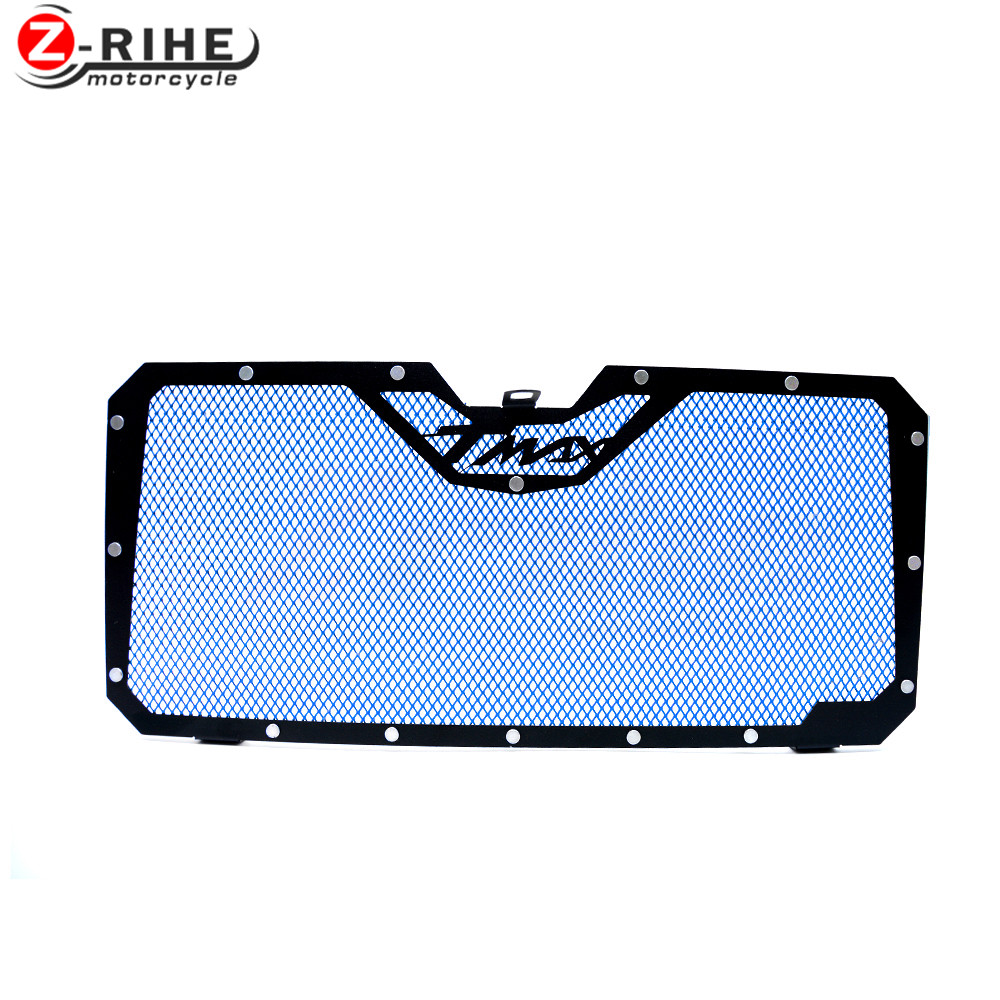 FOR 1 Piece HIGH QUALITY Aluminium Motorcycle Radiator Guard Cover Protector Stainless Steel Grille For Yamaha Tmax 530 TMAX 530 car front bumper mesh grille around trim racing grills 2013 2016 for ford ecosport quality stainless steel