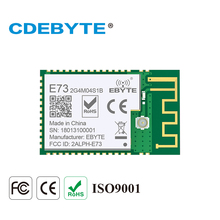CDEBYTE E73-2G4M04S BLE 4.2/5.0 long distance 100m 2.4GHz SMD ARM Core Bluetooth nrf52832 beacon module ble bluetooth ibeacon technology long range beacon station 210l