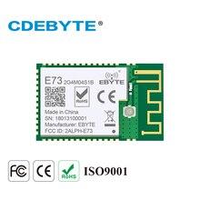 E73 2G4M04S1B transceptor inalámbrico Bluetooth Ble 2,4, TRANSMISOR DE rf, SMD, nRF52832, 2,5 Ghz, 5,0 mW, IPEX, PCB IoT, uhf