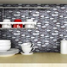 3D Fliesen Mosaik 10x10 Inch Backsplash Fliesen Für Badezimmer Und Küchen  Wand Fliesen