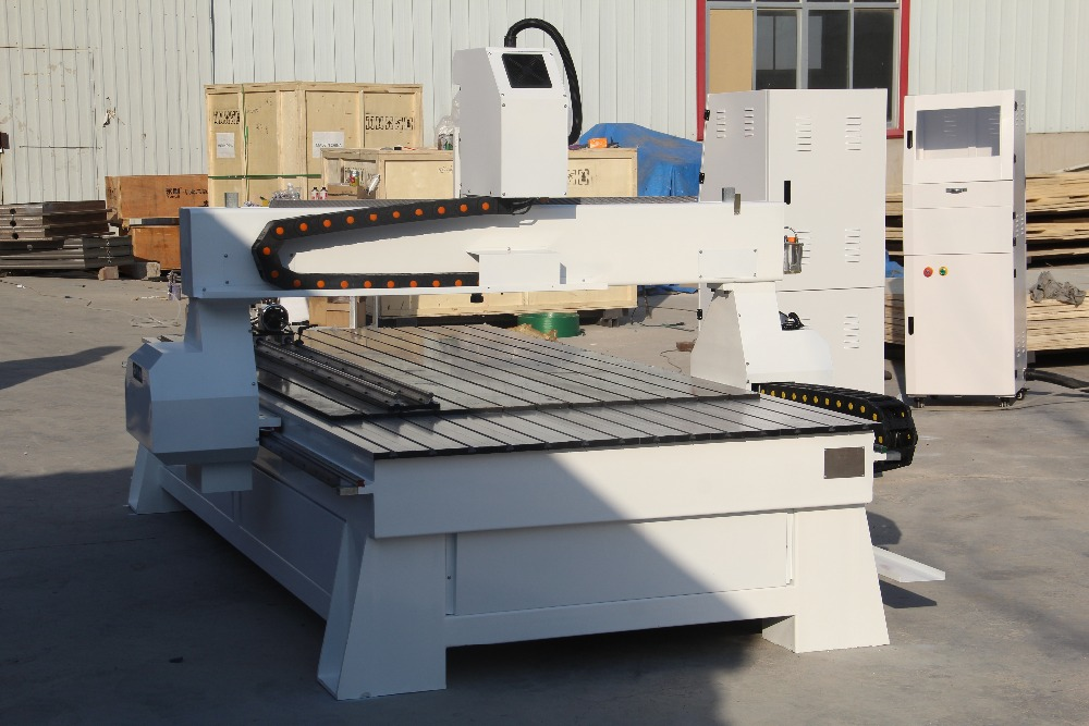 Jinan High Quality 3 Axis Wood Lathe Cnc Router 1300*2500mm Cnc Cabinet Machine