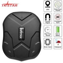 GPS Per Auto Tracker TKSTAR TK905 5000mAh 90 Giorni In Standby 2G Inseguitore Del Veicolo Dei GPS Localizzatore Magnete Impermeabile Monitor di Voce free Web APP
