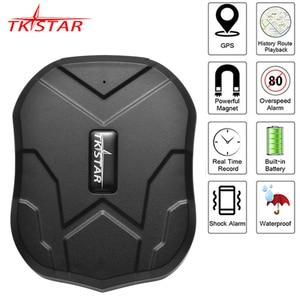 Image 1 - GPS 트래커 자동차 TKSTAR TK905 5000mAh 90 일 대기 2G 차량 추적기 GPS 로케이터 방수 자석 음성 모니터 무료 웹 APP