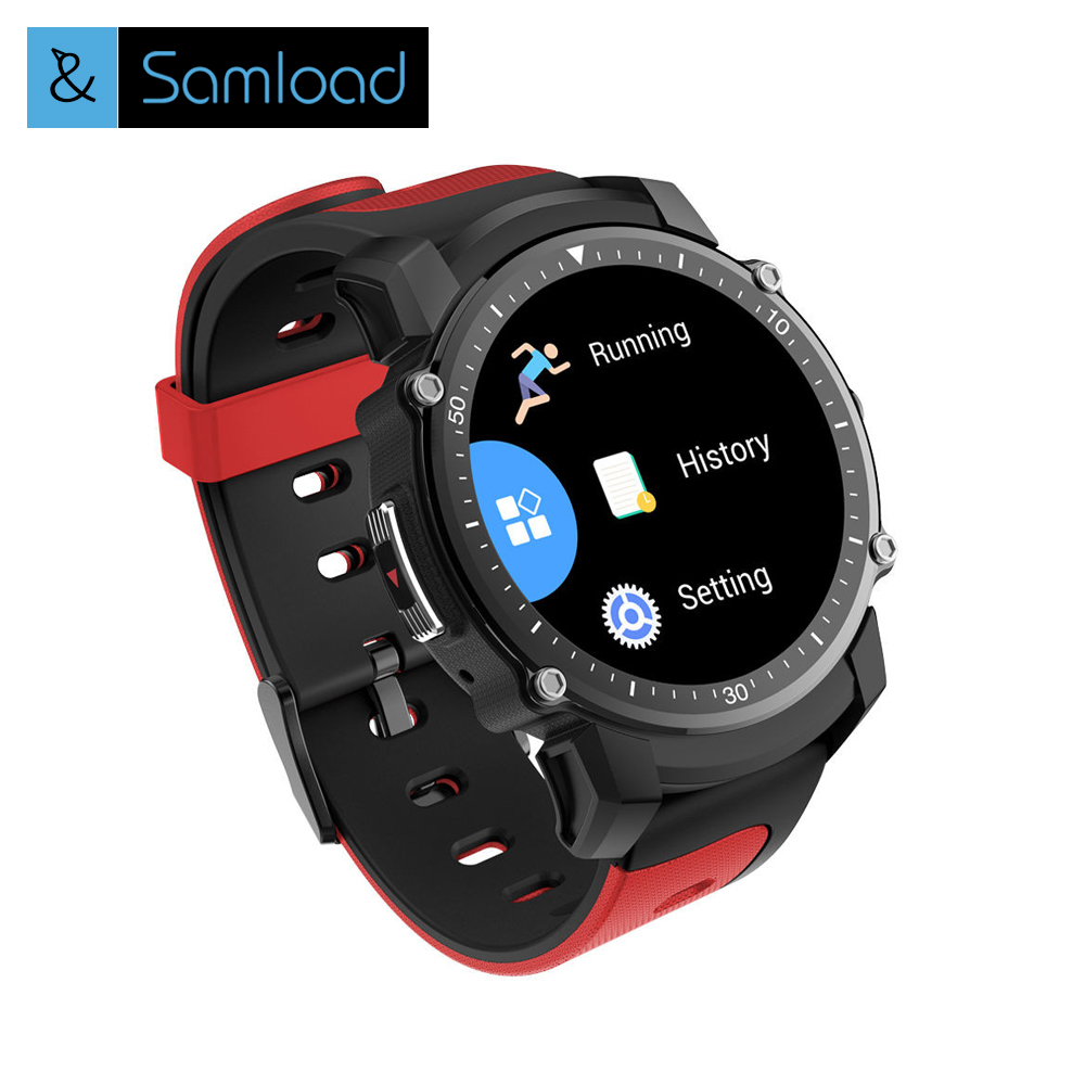 Samload Smart Watch Men Women GPS Sports Fitness Tracker Bluetooth Stopwatch Heart Rate Monitor Wristwatch Clock for Android IOS цена