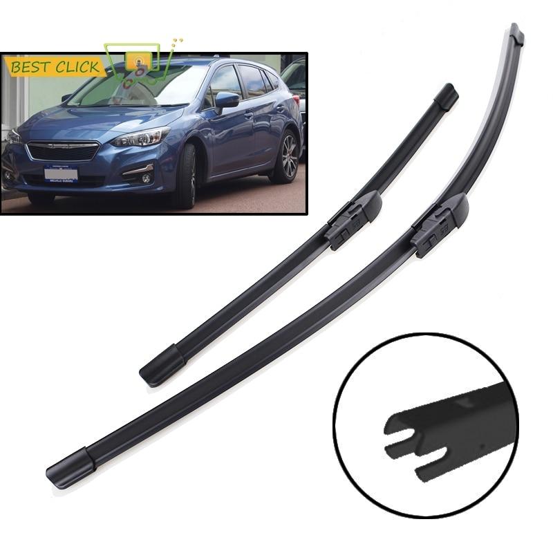 Misima-limpiaparabrisas para Subaru Impreza XV GK GT 2017 2018 2019, limpiaparabrisas
