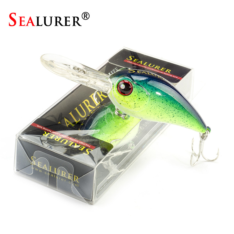 1PCS Fishing Lures Deep Swimming Crankbait 8.5cm 11g Hard Baits 5 Colors Available Wobbler Slow Floating Swimbait Fishing Tackle