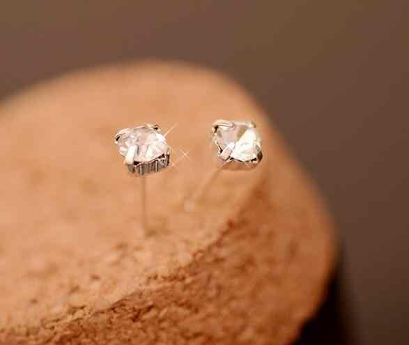 EX448 OL estilo nuevo listado de joyería simple joyería de cuatro garra de aleación de cristal joyería femenina