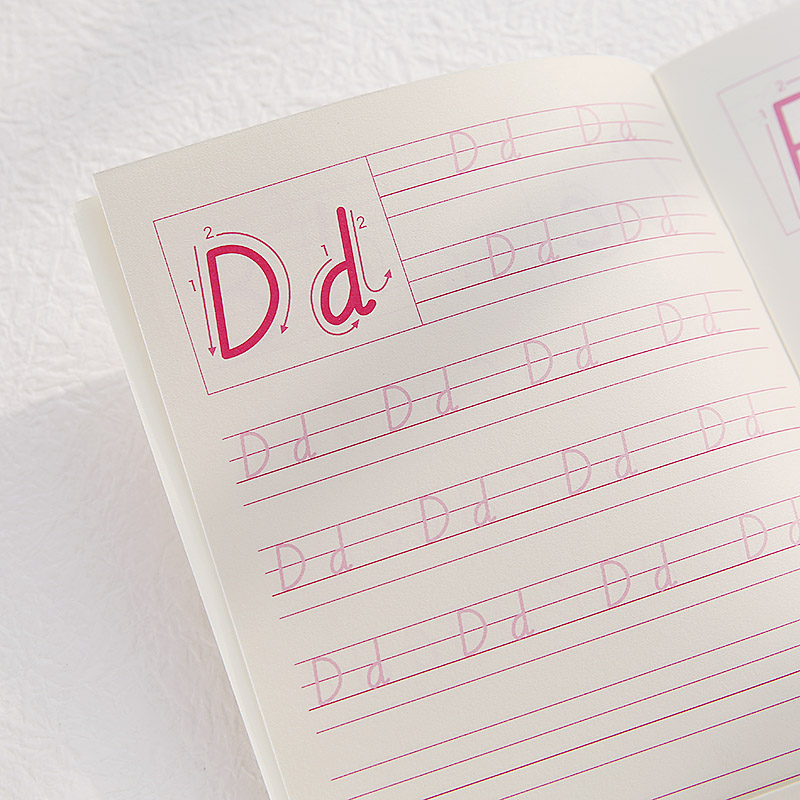 5pcs/set New Kindergarten English Copybook Alphabet Exercise Book For Kids Children
