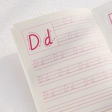 5 шт./компл. нового детского сада на английском языке и выгодно отличается от обычных однотонных вещей Алфавит тетради книги для детей