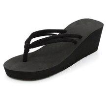 купить Summer Shoes Woman Flip Flops Platform Slides Women Slippers Wedges Ladies Sandals Pumps Beach Shoes Light and Handy по цене 557.01 рублей