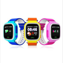 gift Q90 GPS Touch Screen WIFI Smart Watch Child SOS Location Finder Device Tracker Kid Safe
