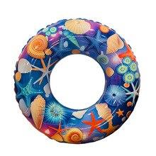 Детский мультфильм Starfish воды плавательный круг рыба-клоун Леденец Печати плавание кольцо надувной плавающий круг для бассейна игрушки