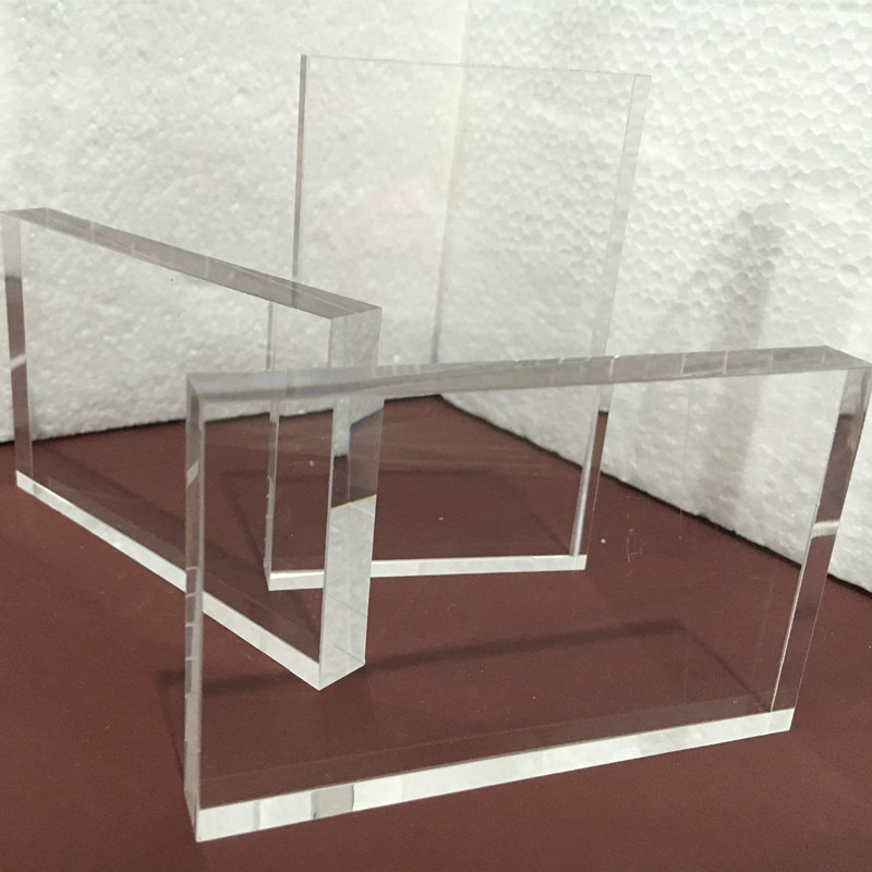 Acrylic Clear Sheet 85x54x10mm Plastic Home Decor High Transparent