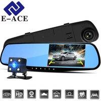 E ACE 4 3 Inch Car Dvr Camera Full HD 1080P Automatic Camera Rear View Mirror