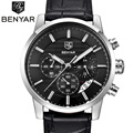 BENYAR 2016 Men Watches Top Brand Luxury Business Waterproof Sport Chronograph Quartz Man Watch Male Clock reloj hombre SAAT