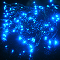 10 M LED linternas Solar Jardín Al Aire Libre Lámpara de Luces de Cortina Decoración de La Boda Del Partido Luces de la Secuencia de 110 V-220 V de Navidad
