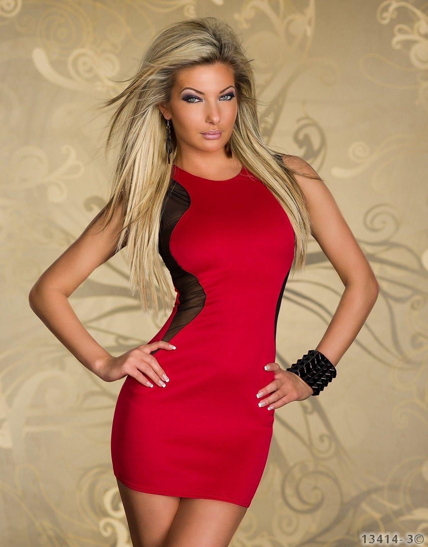 Women wearing sexy dresses