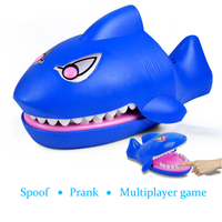 Biting finger shark spoof Novel and interesting Parent child toy