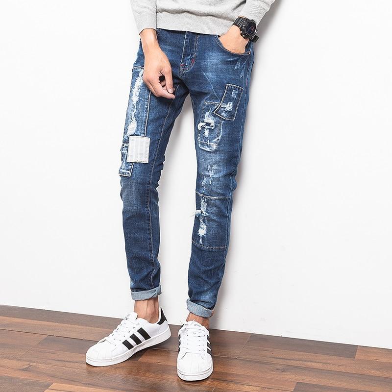 Online Get Cheap Ripped Jeans for Men Sale -Aliexpress.com ...