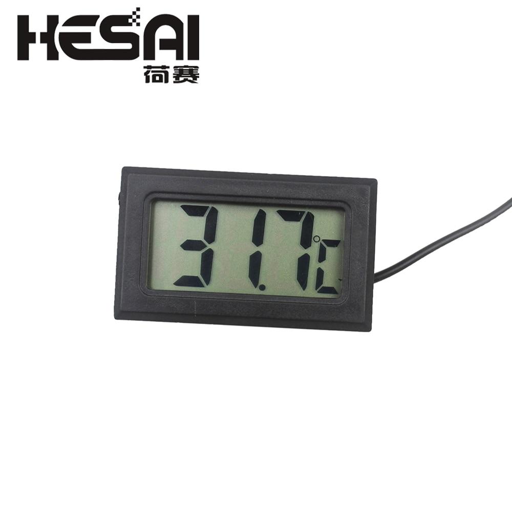 Mini rilevatore di umidità digitale termometro digitale igrometro - Strumenti di misura - Fotografia 2