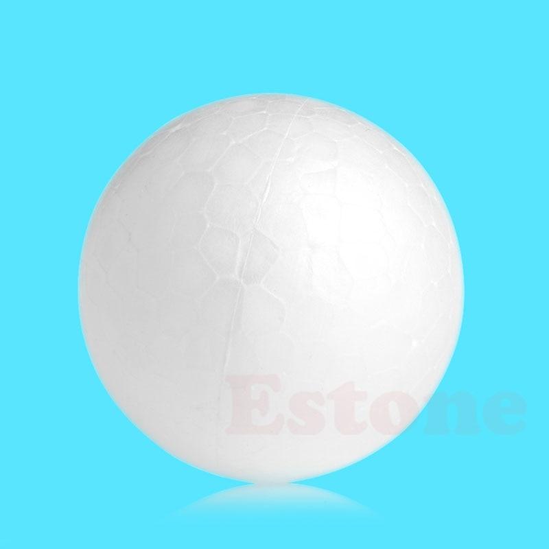 DIY Modelling Polystyrene Styrofoam Foam Ball Creative Material White