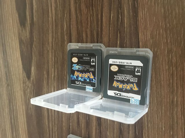 Hot Sale 6PCS Pokemon Game Cards HeartGold SoulSilver Black White 2 Version for Nintendo DS NDSL 3DS NDSI NDSILL NDSIXL NDSL NDS