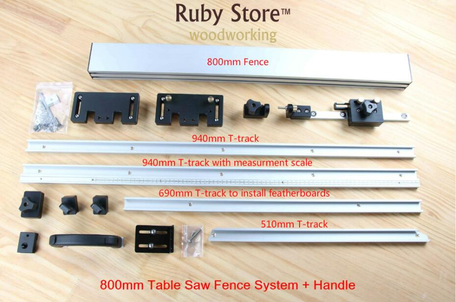 Système de clôture de scie à Table
