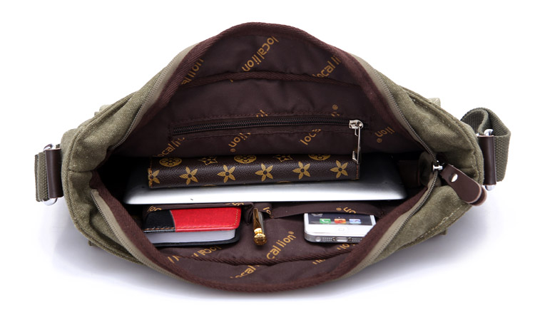 de Homens de Negócios de Moda Crossbody Bag Bolsa de Viagem