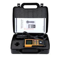 Портативный 0 — 45 м с цифровой анемометр высокая точность жк-дисплей скорость ветра скорость воздуха для измерения температуры метр