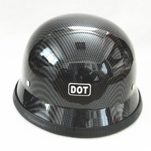 DOT Half Helmet Motorcycle German Vintage Half Face Helmet Chopper Cruiser Scooter M L XL Helmet for Motorbike Accessories недорого