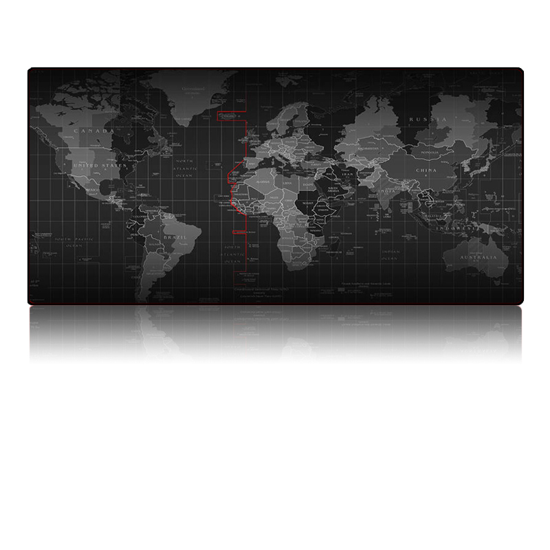 Large Size Mouse Pad Plain Extended Water Resistant Anti