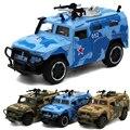 Comando de combate de vehículos 1:32 diecast modelo de coche de metal carros carros carros de la selva del desierto marino simulación de aleación de coche kid toys
